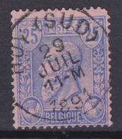 N° 48 HUY ( SUD ) - 1884-1891 Léopold II