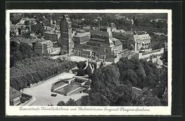 AK Darmstadt, Künstlerkolonie Und Hochzeitsturm - Darmstadt