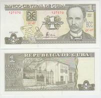 Cuba 1 Pesos 2003 Pick 125 UNC - Cuba