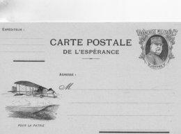 """CP- Série-  De L'Espérance -  """"  Pour La Patrie  """"-  ( N° 14 )- - - Marcophilie (Lettres)"""