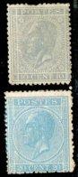 N°17/18 Neufs Sans Gomme (voir Photo)  - 14693 - 1865-1866 Profile Left
