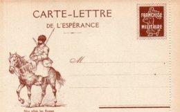 """CL- Série-  De L'Espérance -  """"  Nos Alliés,les Russes """"-  ( N° 18 )- - - Marcofilia (sobres)"""