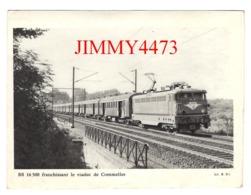 CPM - BB 16500 Franchissant Le Viaduc De Commelles + Description Au Dos - CL. B. D. - Trains