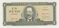 Cuba 1 Peso 1986 Pick 102c UNC - Cuba