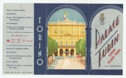 Hotel In Torino  E475-261 - Dépliants Turistici