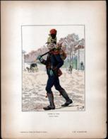 Militaria, Illustrateur JOB, Pompier De Paris, Premier Empire - Vecchi Documenti
