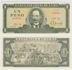 Cuba 1 Peso 1981 Pick 102b UNC - Cuba