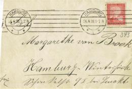 Deutsches Reich - Umschlag Echt Gelaufen / Cover Used (A907) - Briefe U. Dokumente