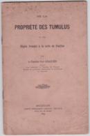 TONGEREN-PROPRIETE DES TUMULUS-CHEVALIER-PAUL SCHAETZEN-BROCHURE+-22 PAGINAS-AFM:14-22CM-ETAT USEE+COMPLET - Libros, Revistas, Cómics