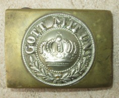 Boucle De Ceinturon M1895 Prusse WW1 - 1914-18