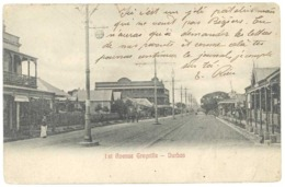 Cpa Afrique Du Sud / South Africa - Durban - 1st Avenue Greyville - South Africa