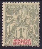 Madagascar N° 40 Neuf * - Voir Verso & Descriptif - - Neufs