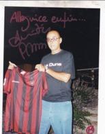 DEDICACE PATRICK BOSSO / ALLEZ NICE ........ENFIN / - Autographes