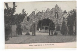St-MARIABURG GROT.RUSTOORD  Militärische Post - Antwerpen