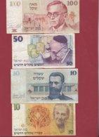 Israel  7 Billets Dans L 'état - Israel
