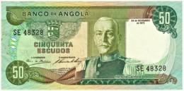 Angola - 50 Escudos - 24.11.1972 - Pick 100 - Série SE - Marechal Carmona - PORTUGAL - Angola