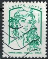 France 2016 Oblitéré Used Marianne Ciappa Et Kawena LV 20g Y&T 5015 - 2013-... Marianne (Ciappa-Kawena)