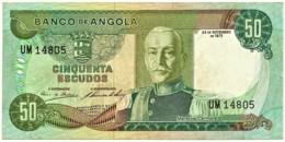 Angola - 50 Escudos - 24.11.1972 - Pick 100 - Série UM - Marechal Carmona - PORTUGAL - Angola