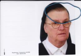 DP+foto Zr. Edith CLAEYS (Zr. Maria) Maldegem 1928-2017 Aalst (Orde Der Zwarte Zusters Aalst) - Religion & Esotérisme