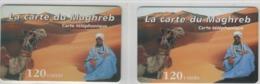 Lot De  Cartes Prépayées Différentes - LA CARTE DU MAGHREB   -  Prépaid  - (valeur Et/ou Verso  Différent) - Andere Voorafbetaalde Kaarten