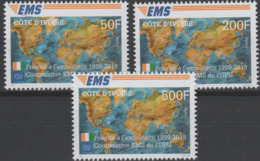 Côte D'Ivoire Ivory Coast 2019 Mi. ? Joint Issue 20e Anniversaire EMS 20 Years Emission Commune E.M.S. UPU - Ivoorkust (1960-...)