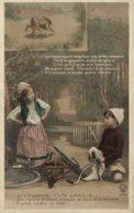 JEAN DE LA FONTAINE  LE LIEVRE ET LA TORTUE N° IV - Fairy Tales, Popular Stories & Legends