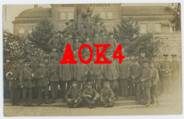 BINGEN 1917 Feldpost KOELN Feldgrau Infanterie Regiment 53 Festhalle Denkmal Ludwig IV - Bingen