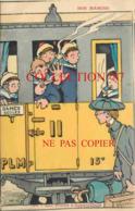 OF < ☺♦♦ GERVESE  N°30 < NOS MARINS - AUX POSTES D'APPAREILLAGE - TRAIN PLM - NAVIRE MARINE De GUERRE - Gervese, H.