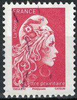 France 2018 Oblitéré Used Marianne L'engagée D'Yseult Digan LP 20g. Y&T 5253 - France