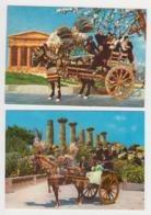 AB994 - ITALIE - SICILIA - Lot 2 Cartes - Carretto Caratteristico - Carrettino - Unclassified