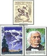 Austria 1978,1979,1980 (complete.Expenditure) Unmounted Mint / Never Hinged 1990 Postman, Skirennen, Sulzer - 1945-.... 2nd Republic