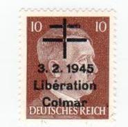 Libération COLMAR 10pf (référence Catalogue LION) - Liberazione