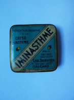 CHy Boîte Pharmacie M. SERVIER Laboratoire Médicament IMINASTHME Médication Abordive Crise D'Asthme Orléans - Boxes