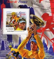 Tour De France  -  Bradley Wiggins  -  Sierra Leone 2015 1v  MS  MNH/Neuf/Mint - Cyclisme