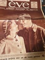EVE 36 MAURICE CHEVALIER JOSETTE DAY /FEMME SPORT AVIATION / RENEE HAMON ILES FIDJI - 1900 - 1949