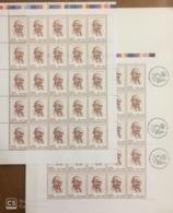 Full Sheet Of Viet Nam Vietnam MNH Perf Stamps 2019 : 150th Birth Anniversary Of Mahatma Gandhi (Ms1115) - Sent By FDC - Vietnam