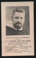 PATER ALBERTUS VAN GERVEN - TURNHOUT 1903 - TE NIANGARA GESTORVEN 1931 - Overlijden