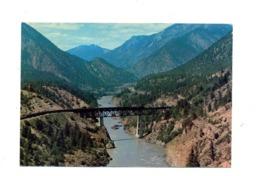 Carte Postale 8 Pont Train Lilloet - 1953-.... Règne D'Elizabeth II