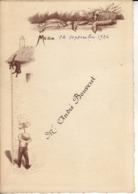 Menu : 14 Septembre 1924 - Menus