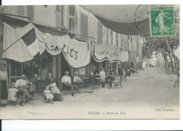 CUERS  ( VAR ) ROUTE DE NICE - Cuers