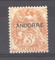 Andorre  :  Yv  4  ** - Andorre Français