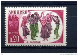 Andorre  :  Yv  166  ** - Andorre Français