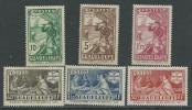 Guadeloupe N° 127 / 32  XX  Tricentenaire Du Rattachement Des Antilles : La Série Des  6 Valeurs Sans Charnière, TB - Guadeloupe (1884-1947)