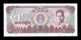 Camboya Cambodia 50 Riels 1992 Pick 35 SC UNC - Cambogia