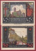 Allemagne 1 Notgeld 50 Pfenning  Stadt Rudelsburg  (RARE)  Dans L 'état Lot N °5092 - Collections
