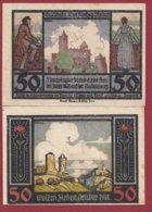 Allemagne 1 Notgeld 50 Pfenning  Stadt Rudelsburg  (RARE)  Dans L 'état Lot N °5093 - Collections
