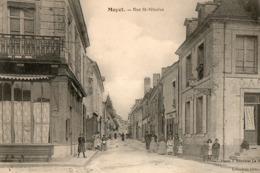 MAYET  ( 72 ) - Rue Saint Nicolas - Mayet