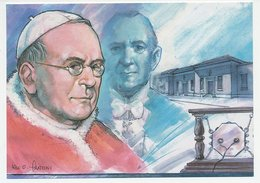 Postal Stationery Vatican 2006 Radio Vatican - Pope Oius XI - Guglielmo Marconi - Religions