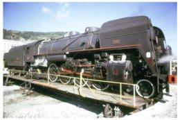 Veynes (05) Novembre 1973 - La 141 R 1244 Sur La Plaque Du Dépôt De Veynes - France
