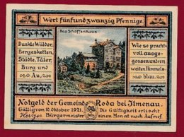 Allemagne 1 Notgeld 25 Pfenning  Stadt Ilmenau  (RARE)  Dans L 'état Lot N °5100 - Collections